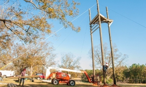 High Ropes Tower Construction